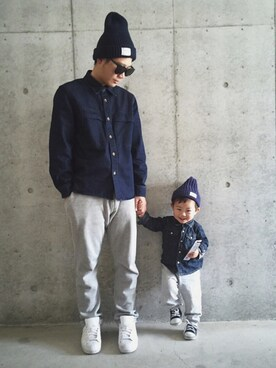 ERIKAさんの「JB: ニットキャップ made in JAPAN 14AW●(SHIPS JET BLUE)」を使ったコーディネート