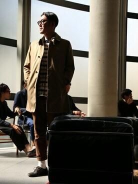 MEN'SMELROSE HEAD OFFICE( SHOP STAFF)|tetsuya satoさんの(MEN'S MELROSE|メンズ メルローズ)を使ったコーディネート