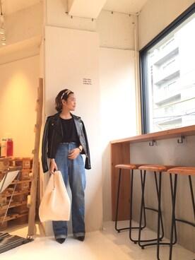 LIFE's堀江店|ERINA  TAMOTSUさんの(TODAYFUL|トゥデイフル)を使ったコーディネート