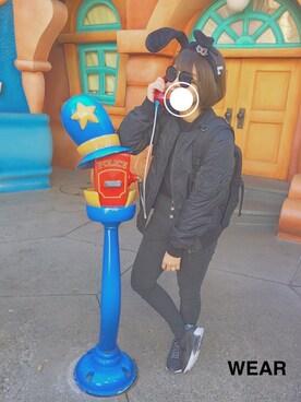 momoさんの(Disney|ディズニー)を使ったコーディネート