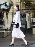 「LUG SOLE PUMPS(CHARLES & KEITH)」 using this CHARLES & KEITH looks