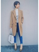 「MICHAEL Michael Kors Jet Set East West Top Zip Tote(MICHAEL Michael Kors)」 using this スー☆ looks