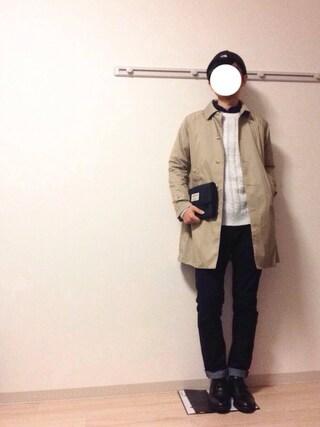 Kochikiさんの「ザ・ノース・フェイス ロゴニットキャップ / カプッチョリッド3(THE NORTH FACE|ザノースフェイス)」を使ったコーディネート