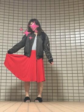 SIONAさんの「バッククロスTシャツ(MURUA|ムルーア)」を使ったコーディネート