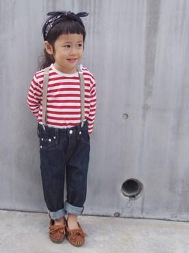 nikoさんの(SHIPS KIDS シップスキッズ)を使ったコーディネート