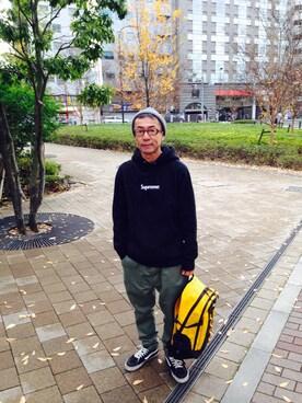 TERIYAKIさんの(白山眼鏡店|ハクサンメガネテン)を使ったコーディネート