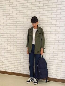 潮田あかりさんの(WTAPS ダブルタップス)を使ったコーディネート