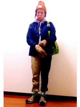 YOSHIKOさんの(EDIFICE|エディフィス)を使ったコーディネート