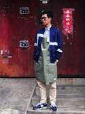 「Chino Cloth Pants - Piped(YAECA)」 using this plain-me_tc looks