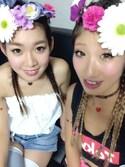 Saki Kodamaさんの「フラワーヘッドアクセ(FIG&VIPER|フィグアンドバイパー)」を使ったコーディネート