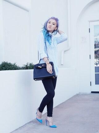 (VALENTINO) using this Gigi Lam looks