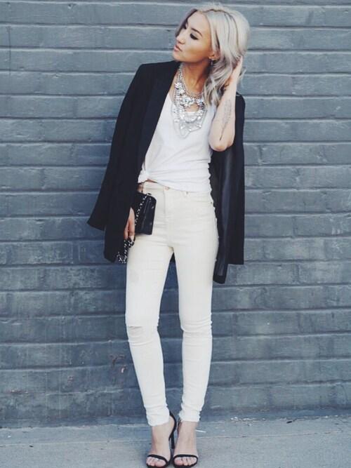 (H&M) using this Gigi Lam looks
