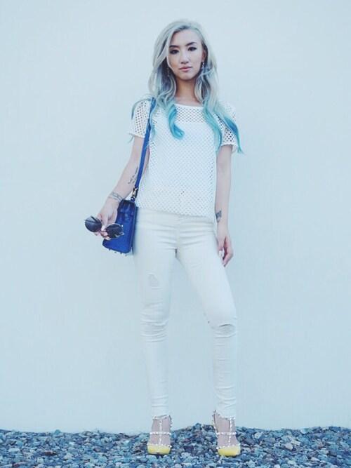 (aryn K) using this Gigi Lam looks