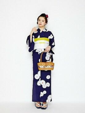 ふりふグループ|furifuさんの「乙女菊(ふりふ)」を使ったコーディネート