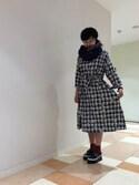 furifuさんの「フェザーリバーシブルストール(ふりふ フリフ)」を使ったコーディネート