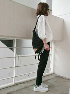 Ayaさんの「コットンツイルオーバーシャツLS 708411(LEPSIM|レプシィム)」を使ったコーディネート
