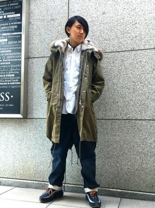 「【LOVELESS】MENS モッズパーカー(LOVELESS)」 using this LOVELESS青山|hiromu looks