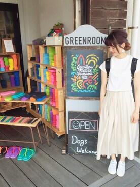 mysticルミネ横浜店|anna  aoyamaさんの「Tシャツドッキングマキシワンピース(Mila Owen)」を使ったコーディネート
