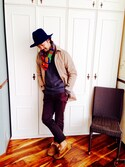「UGG® Australia 'Byron' Slipper (Men)(UGG)」 using this 大原 英敏【芦屋 美容師】 looks