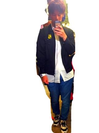 わたるさんの「MEN ジョガーパンツ(ユニクロ|ユニクロ)」を使ったコーディネート