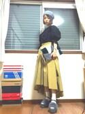 Akaneさんの「RODE SKO ORVOKKI ランダムファークラッチ(RODE SKO|ロデスコ)」を使ったコーディネート