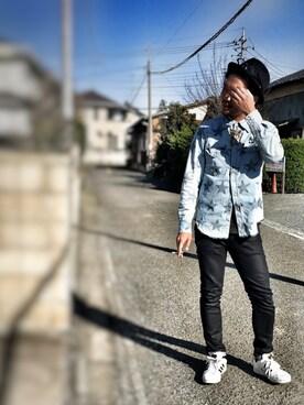 Kurakamiさんの(Nudie Jeans|ヌーディージーンズ)を使ったコーディネート