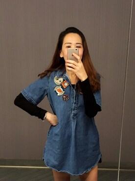 (ZARA) using this Yeong Wai Fong looks