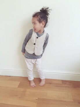 (ZARA KIDS) using this RLN_nyc looks