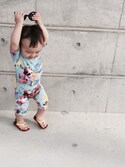 「STELLA MCCARTNEY KIDS One-piece suits(Stella McCartney)」 using this taia looks