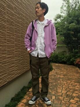 BEAUTY&YOUTH UNITED ARROWS|Keisuke Oosukaさんの(ACRONYM|アクロニウム)を使ったコーディネート