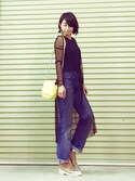 「FOREVER 21 Faux Leather Flaptop Crossbody(Forever 21)」 using this AKARI looks