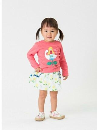 F.O.Online Store F.O.OnlineStoreさんの「春の3柄モチーフ長袖Tシャツ(Petit jam プチジャム)」を使ったコーディネート