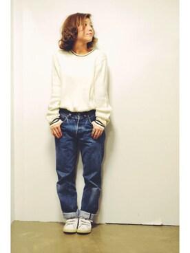 ナカニシミライさんの(adidas)を使ったコーディネート