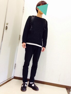 「DR. MARTENS Moccasins(Dr. Martens)」 using this みっちゃん looks