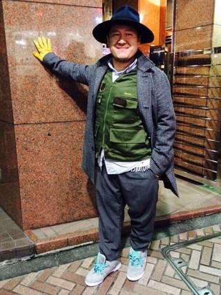 "Shibuya""T""|Tadahiro  Itoさんの「BARBISIO×UNITED ARROWS(BARBISIO)」を使ったコーディネート"
