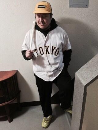 "Shibuya""T""|Tadahiro  Itoさんの(Sony Sports)を使ったコーディネート"