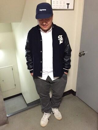 "Shibuya""T""|Tadahiro  Itoさんの「aNYthingのシャツ(aNYthing|エニシング)」を使ったコーディネート"