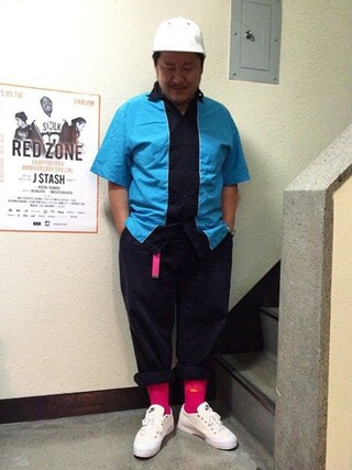 "Shibuya""T""|Tadahiro  Itoさんの(NIKE|ナイキ)を使ったコーディネート"
