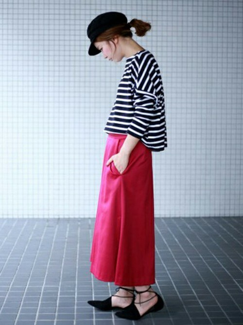 IENA 本社GiiさんのTシャツ/カットソー「TWW ビッグマリンシャツプルオーバー◆(Traditional Weatherwear|トラディショナルウェザーウェア)」を使ったコーディネート