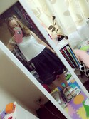 「FOREVER 21 Contrast-Trimmed Tank(Forever 21)」 using this あ や looks