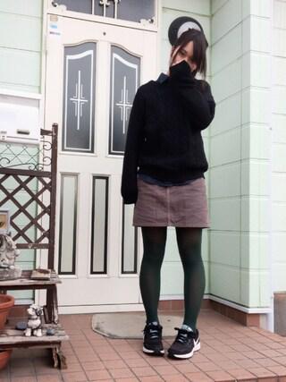 すぅさんの「WOMEN デニムシャツ(長袖)(ユニクロ|ユニクロ)」を使ったコーディネート