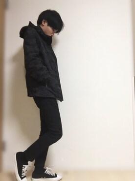 興津健太(オキツケンタ)さんの(CONVERSE|コンバース)を使ったコーディネート
