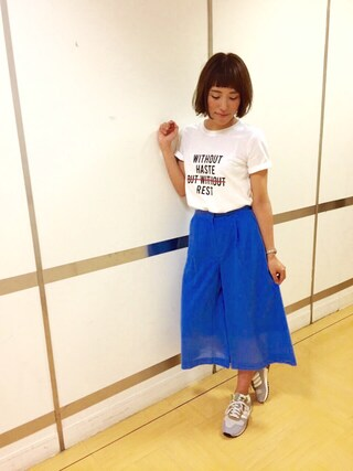 FRAY I.D|kazuki haniokaさんの「adidas ZX700_W(FRAY I.D|フレイ アイディー)」を使ったコーディネート