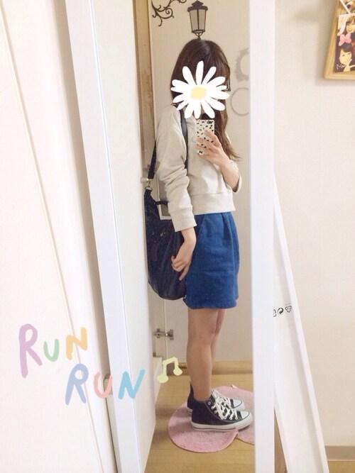 nana♡さんの「カットワークフラワープルオーバー(E hyphen world gallery)」を使ったコーディネート