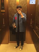 「Raf Simons Washed-Denim Shirt(Raf Simons)」 using this younsukcrvzy  looks