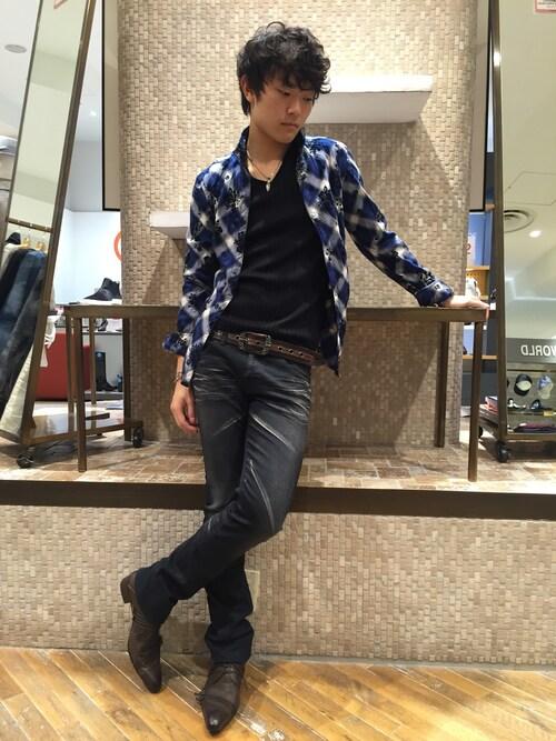 72f861e3cbe9d shimada|TORNADO MARTのシャツ ブラウスを使ったコーディネート - WEAR