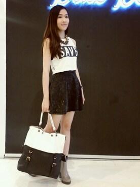 (H&M) using this MayJune陈美君 looks