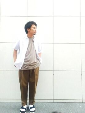 ADAM ET ROPE'  札幌PARCO|shota kimuraさんの(ADAM ET ROPE'|アダム エ ロペ)を使ったコーディネート
