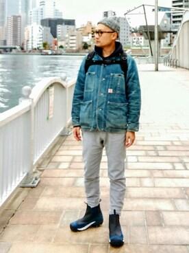KEEN|SHINJI  LOW さんのブーツ「Anchorage Boot II WP / アンカレッジ ブーツ ツー ウォータープルーフ(KEEN|キーン)」を使ったコーディネート