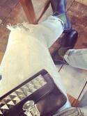 「Comme des Garçons Studded Leather Wallet Comme Des Garçons(Comme des Garcons)」 using this Lenn0n looks